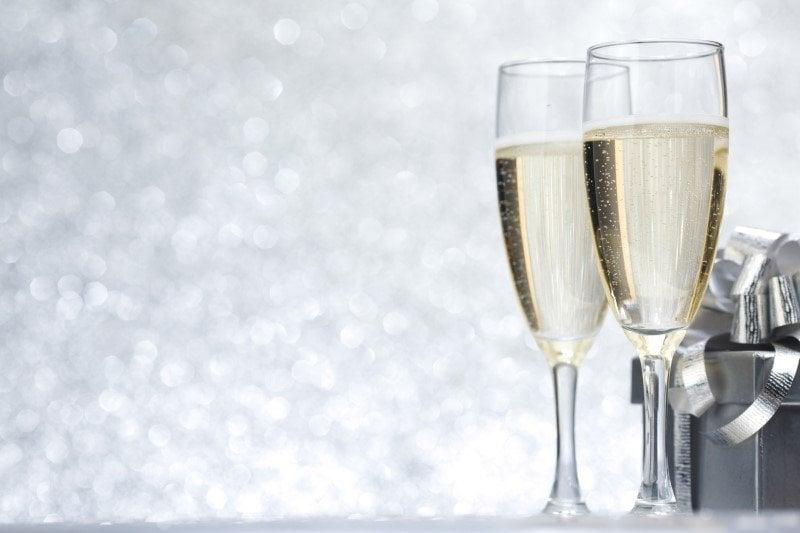 En værtindegave til nytår, spreder god stemning