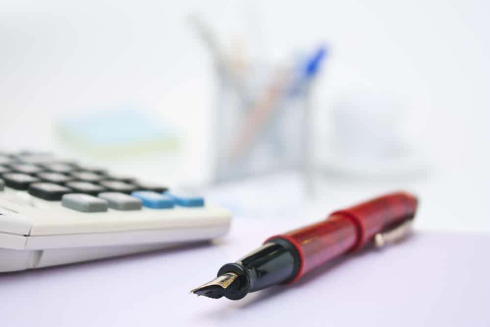 Skriveredskaber og lommeregner